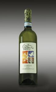 Splendido Langhe Chardonnay in purezza, proveniente dalle vigne di fronte alla Dimora antica.
