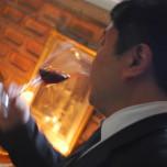 Mr Wayne Huang degusta i nostri vini